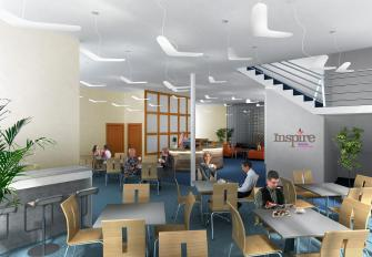 Bradford Inspire Business Park reception